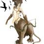 Lion Huntress by Lazymodecomics