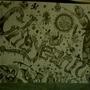 Birthday Mural by Littleluckylink