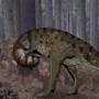 Carnotaurus Itching