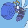 Sonic & Buzz Bomber Animated Gif