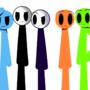 Five Stickmans