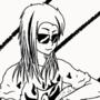 Simple manga girl