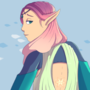 DnD Character Design: Spring Bliss the Elf Druid