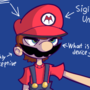 edgy Mario character sheet