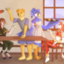 Full Party by Kasscabel (Birb Cafe)