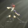Samurai Girl! by dleaf60