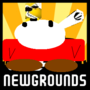 my newgrounds loading screen by SHUEBOY