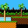 Sonic the hedgehog (in Mega Man NES)