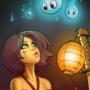 Spirit lantern (shibari version)