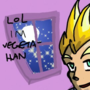 on a date with vegeta han