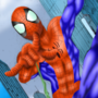 Ultimate Spider-Man Issue 75 Cover Edit