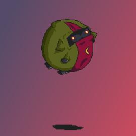 Evil Wizard ball (Castle Crashers)
