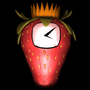 Strawberry Clock 3D by Balazeal