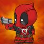 The little Deadpool by Bya