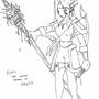 Kairii, the Ranger Elf by DBrackett