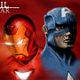 Marvel Civil War by Bya