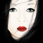 A Geisha by Bya