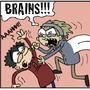 Humans vs. Zombies by Mieshka