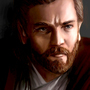 Young Obi Wan by unttin7