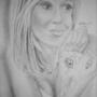 Cute blonde woman by Flashmovieboy
