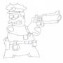 Chief Wiggum Sketch by Dean