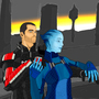 Liara and Shapard by Rennis5