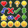 Pixel Emote Sprites