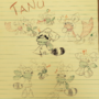 Just a few doodles I did of one of my characters, Tanu the other day