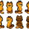 GarfieldRPG: Garfield sprites