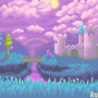 Terraria : Hallow Biome : Environmental Fanart