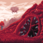 Terraria : Crimson Biome : Environmental Fanart