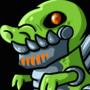 Cyborg T-Rex Idle Animation