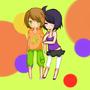 Luze and her best friend by Kuroneko-san