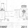 Bottled fairy comparison by draneas