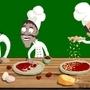 Pizza Salame! by b0em