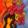 Satan Leo friend by Sandragon