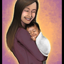 Gift for Vana: Proud New Mommy by Sabtastic
