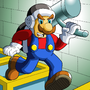 Hammer Mario: Let's-a Go! by Clovis15