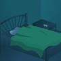 Dark Bedroom by Rational-Delirium
