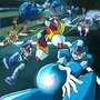 It's Raining Mega Men! by Wavechan