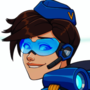 Commission: Tracer Cadet Oxton (Overwatch)