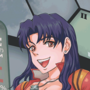 Misato Gets in the Damn Robot