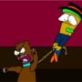 Simon Smith and his dancing bear