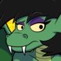 Dragon in nude