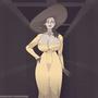 Lady Dimitrescu - RE8 (GIF)