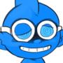 Blue Man Jr
