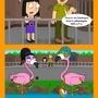 Flamingo by KidneyJohn