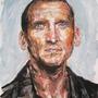Christopher Eccleston by pencilbandit