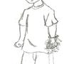 Huey Freeman with Power glove by neonkirby97