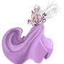 Purple Dress by Lazymodecomics
